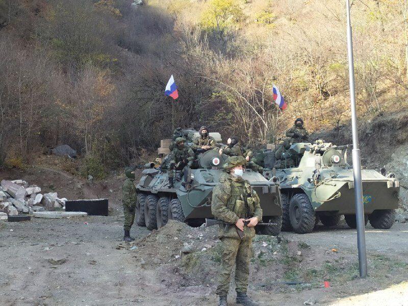 Карабах миротворцы