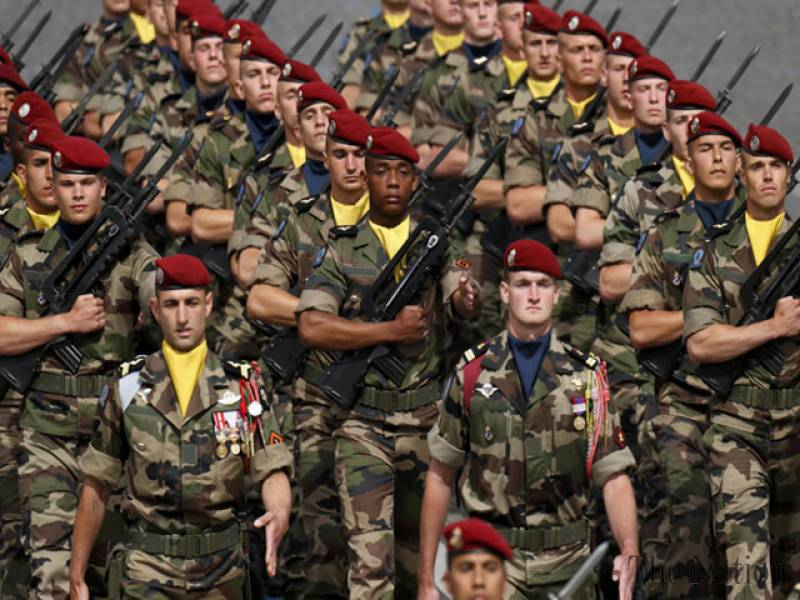 французские военные