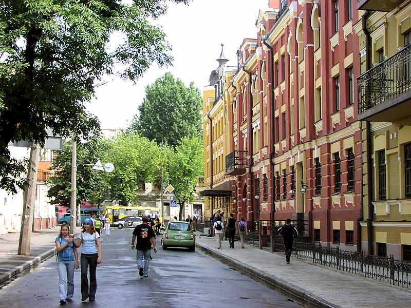 Киев улицы