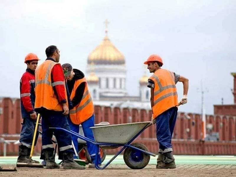 Мигранты Россия